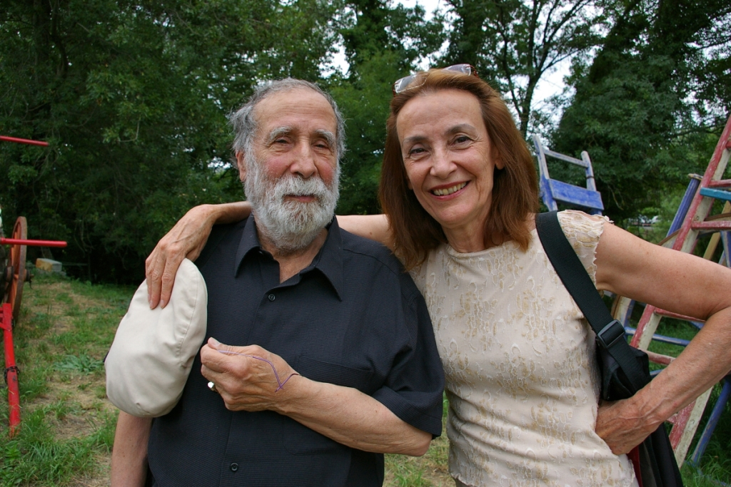 Marcel Hanoun et Lucienne Deschamps